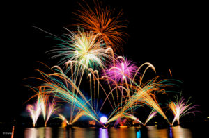 Fireworks over Walt DisneyWorld.